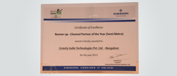 Runner Channel partner of the year 2015