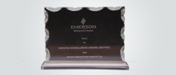 Service Excellence Award from Emerson- 2005