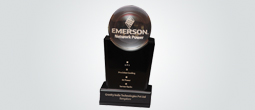 Service Excellence Award from Emerson